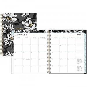 Blue Sky Baccara DarkFloral Design Monthly Planner 110216 BLS110216