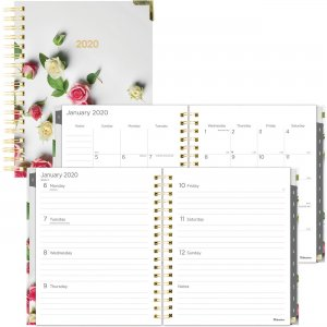 Rediform Romantic Roses Weekly/Monthly Planner C3600201 REDC3600201