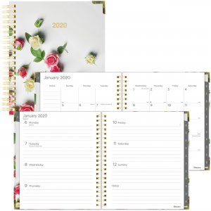 Rediform Romantic Roses Weekly/Monthly Planner C3600301 REDC3600301