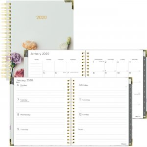 Rediform Romantic Flowers Weekly/Monthly Planner C3600302 REDC3600302