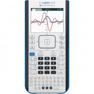 Texas Instruments Nspire Graphing Calculator NSPIRECXII TEXNSPIRECXII CX II