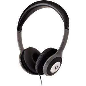 V7 Deluxe Stereo Headphones with Volume Control HA520-2NP