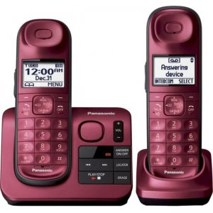 Panasonic Duo Cordless Phone KX-TGL432R