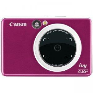 Canon IVY CLIQ+ Instant Camera & Portable Printer + App (Ruby Red) 3879C004