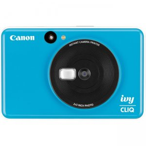 Canon IVY CLIQ Instant Camera & Portable Printer (Seaside Blue) 3884C003