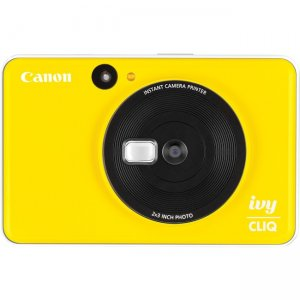 Canon IVY CLIQ Instant Camera & Portable Printer (Bumblebee Yellow) 3884C002