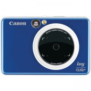 Canon IVY CLIQ+ Instant Camera & Portable Printer + App (Sapphire Blue) 3879C003