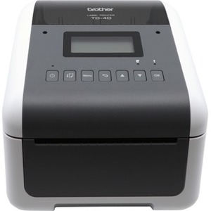 Brother 4 inch Direct Thermal Desktop Wireless Network Barcode and Label Printer TD4550DNWB TD-4550DNWB
