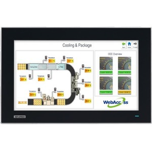 "Advantech 15.6"" WXGA Industrial Monitor with PCAP Touch Control, Direct VGA, and DVI Ports FPM-7151W-P3AE FPM-7151W"