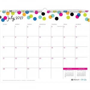 Blue Sky Ampersand Dots Wall Calendar 107947 BLS107947