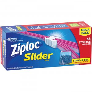 Ziploc Slider Gallon Storage Bags 651305 SJN651305