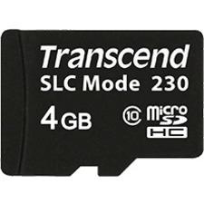 Transcend 4GB microSDHC Card TS4GUSD230I