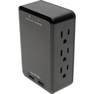 Tripp Lite Protect It! Surge Suppressor/Protector TLP6SLUSBB