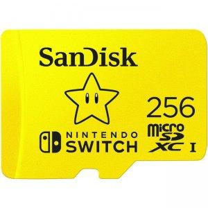 SanDisk 256GB microSDXC Card SDSQXAO-256G-ANCZN