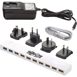 Tripp Lite 10-Port USB 3.0 / USB 2.0 Combo Hub U360-010C-2X3