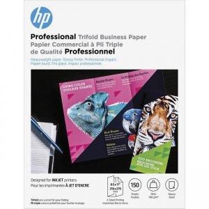 HP 48 lb. Glossy Tri-fold Paper 4WN12A HEW4WN12A