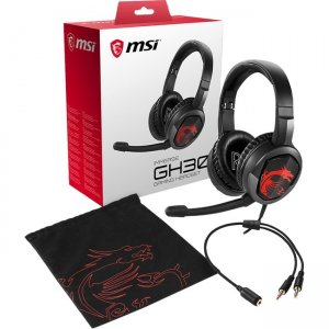MSI Immerse Gaming Headset IMMERSE GH30 GH30