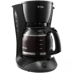 Mr. Coffee Simple Brew 12-Cup Switch Coffee Maker Black DW13-RB MFEDW13NP