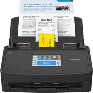 Fujitsu Scansnap Touch Screen Scanner for Pc and Mac (Black) PA03770-B105 iX1500