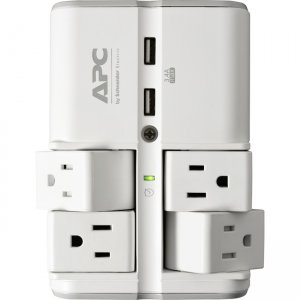 APC by Schneider Electric SurgeArrest Essential 4-Outlet Surge Suppressor/Protector PE4WRU3