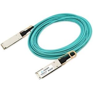 Axiom 100GBASE-AOC QSFP28 Active Optical Cable Juniper Compatible 1m JNP-100G-AOC-1M-AX