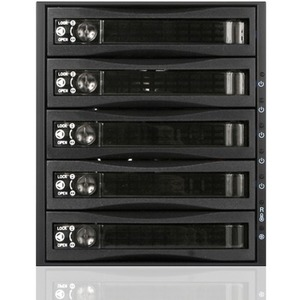 "iStarUSA 3x 5.25"" to 5x 3.5"" 2.5"" 12Gb/s HDD SSD Hot-swap Rack BPU-350HD-BPL"