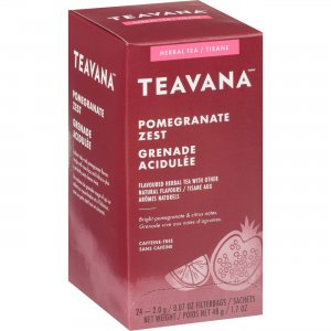 Teavana Pomegranate Zest Herbal Tea 11092395 SBK11092395