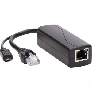 Tripp Lite PoE to USB Micro-B and RJ45 Active Splitter NPOE-SPL-G-5VMU