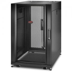 APC by Schneider Electric NetShelter SX 18U Server Rack Enclosure 600mm x 900mm w/ Sides Black AR3006