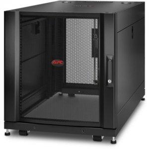 APC by Schneider Electric NetShelter SX 12U Server Rack Enclosure 600mm x 1070mm w/ Sides Black AR3103
