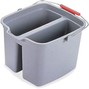 Rubbermaid Commercial Double Pail 261700GY RCP261700GY