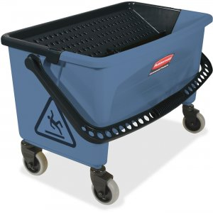 Rubbermaid Commercial Finish Mop Bucket w/ Wringer Q93000BE RCPQ93000BE