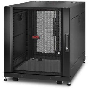 APC by Schneider Electric NetShelter SX 12U Server Rack Enclosure 600mm x 900mm w/ Sides Black AR3003