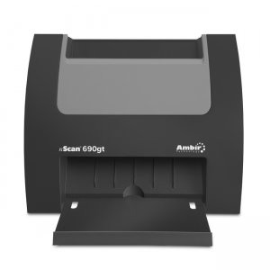 Ambir nScan 690gt Duplex ID Card Scanner w/ AmbirScan Business Card Reader Software DS690GT-BCS 690GT