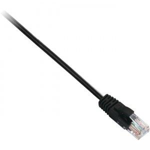 V7 CAT6 Ethernet UTP 02M Black V7CAT6UTP-02M-BLK-1E