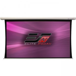 Elite ProAV Saker Tab-Tension Plus Projection Screen SKTP180XWH