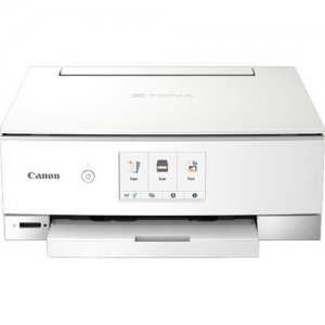 Canon PIXMA TS8320 Wireless Inkjet All-In-One Printer 3775C022 TS8320 White