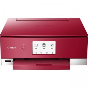 Canon PIXMA TS8320 Wireless Inkjet All-In-One Printer 3775C042 TS8320 Red