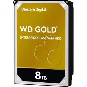 WD Gold Enterprise Class SATA HDD Internal Storage, 8TB WD8004FRYZ