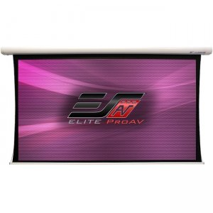 Elite ProAV Saker Tab-Tension Plus Projection Screen SKTP180XH-DUAL