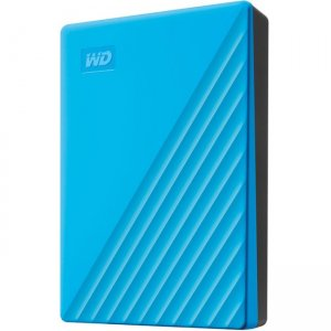 WD 4TB My Passport Portable Hard Drive WDBPKJ0040BBL-WESN