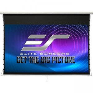 Elite Screens Manual Tab-Tension 2 Projection Screen MT125XWH2