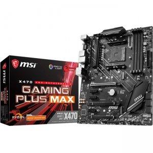 MSI Desktop Motherboard X470GPLMAX X470 GAMING PLUS MAX