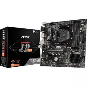 MSI Desktop Motherboard B450PVDHMAX B450M PRO-VDH MAX
