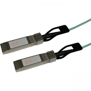 ENET 25GBASE-AOC SFP28 To SFP28 Active Optical Cable (AOC) Assembly 2m SFP-25G-AOC2M-ENC