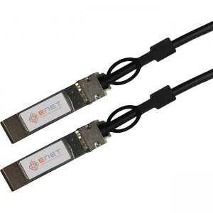 ENET 25GBASE-CU SFP28 To SFP28 Passive Direct-Attach Cable (DAC) Assembly 1.5m SFP-H25G-CU1.5M-ENC