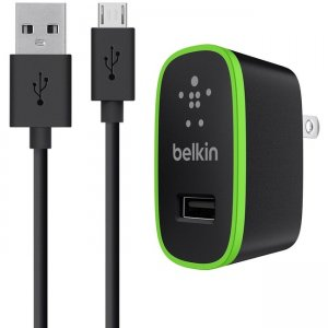 Belkin Universal Home Charger with Micro USB ChargeSync Cable (12 Watt/ 2.4 Amp) F8M886TT04-WHT