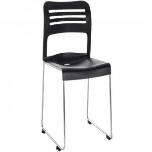 Eurotech Flamingo Stack Chair FL8110BLK EUTFL8110BLK FL8110