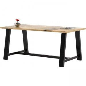 "KFI 36x72"" Solid Wood Top Midtown Table T3672BMT30LN KFIT3672BMT30LN"