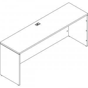 "Groupe Lacasse Morpheo 60"" Rectangular Table M1DT2460BC LASM1DT2460BC"